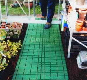 Polypropylene footpath - 36 tonnes per square metre
