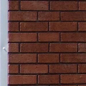 Brick front piers - choice of colours