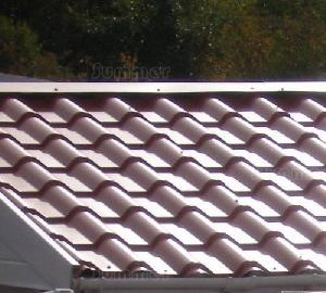 SHEDS xx - Tile-effect steel roof sheets