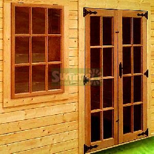 Hardwood doors and windows