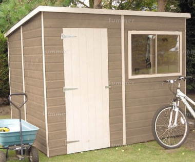 Shire Pent Shed - Shiplap