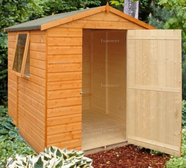 Shire Faroe Apex Shed - Shiplap, T and G Floor