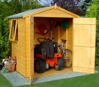 Shire Arran Apex Shed - Double Door