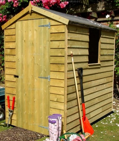 Shire Pressure Treated Overlap Shed