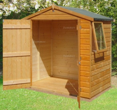 Shire Bute Apex Shed - Double Door