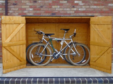 Shire Pent Bike Store Shed - Double Door
