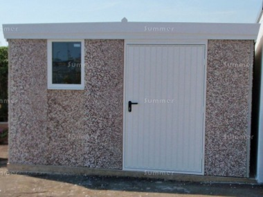 Spar Pent Concrete Shed 442 - PVCu Window and Fascias