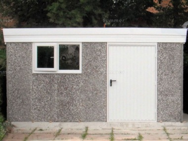 Spar Pent Concrete Shed 492 - PVCu Window and Fascias