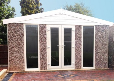 Spar Apex Concrete Shed 774 - PVCu Windows, Fascias and Doors