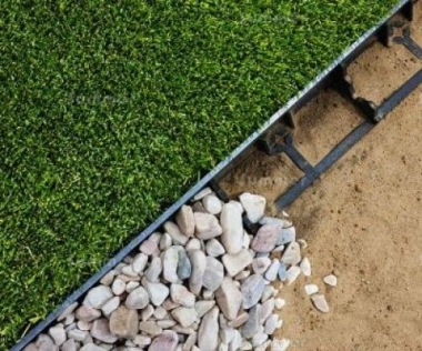 Heavy Duty Garden Edging 480 - Contemporary, Maintenance Free