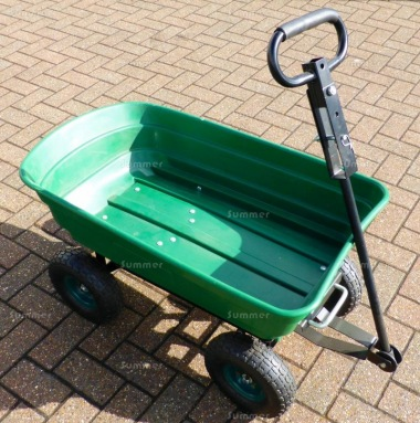 Tipping Garden Cart 248 - Barrow with Pneumatic Tyres