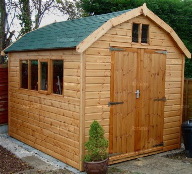 Shiplap Barn Style Apex Shed 197 - All T and G