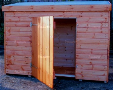 Shiplap Pent Roof Small Storage Shed 21 - All T and G