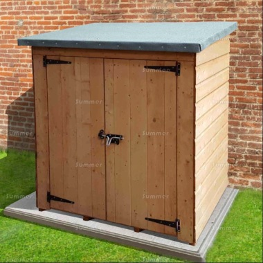 Shiplap Pent Roof Small Storage Shed 173
