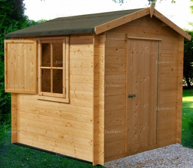 Shire Camelot Log Cabin Shed