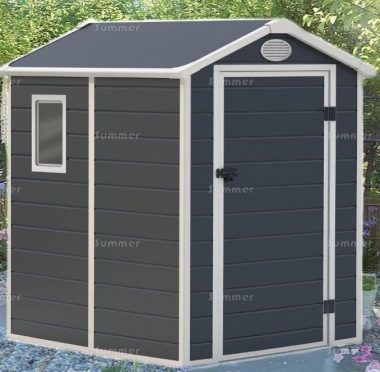 Low Maintenance Plastic Storage Shed 652