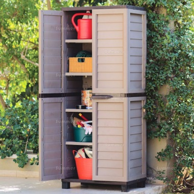 Plastic Storage Cabinet 455 - High Density Polypropylene
