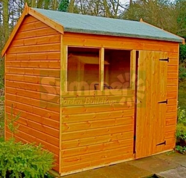 Side Door Apex Shiplap Shed 144 - All T and G