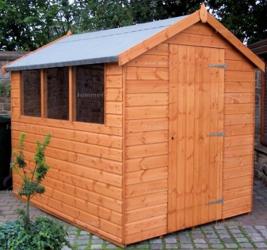 Apex Shed 552 - Shiplap, T and G Floor and Roof