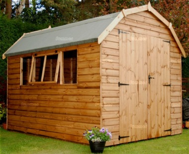 Shiplap Barn Style Apex Shed 578 - All T and G