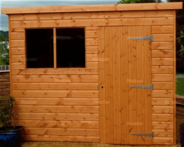 Pent Shed 051 - Shiplap, T and G Floor and Roof