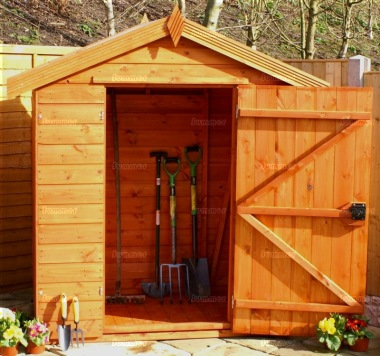 Shiplap Transverse Apex Shed 717 - All T and G
