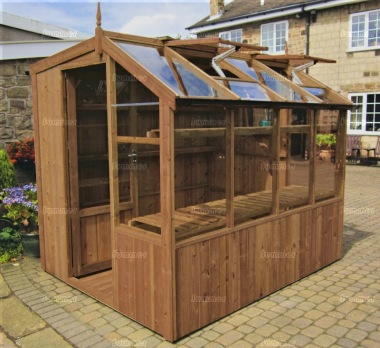 Thermowood Potting Shed 241 - Part Glazed Roof