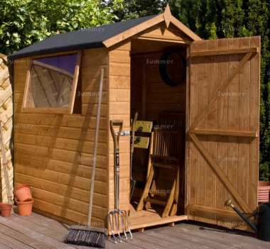 Shiplap Apex Shed 354 - All T and G