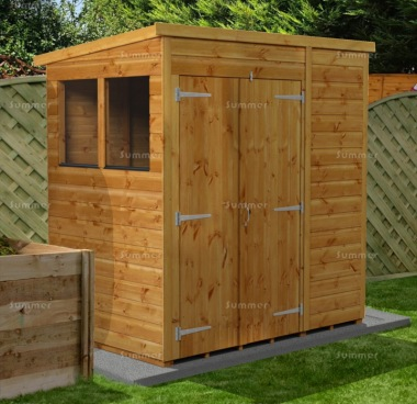 Pent Shed 864 - Fast Delivery, Many Possible Designs