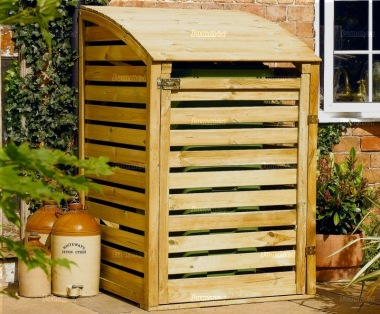 Rowlinson Single Wheelie Bin Store - Pressure Treated