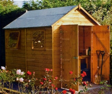 Rowlinson 6ft Premier Sheds - Double Door