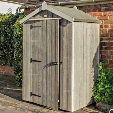 Rowlinson Heritage Shed - Grey Wash Paint Finish