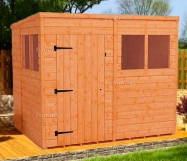Pent Shed 049 - 3-5 Day Delivery, Many Possible Designs