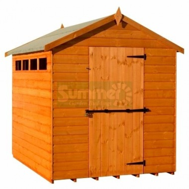 Security Apex Shed 227 - Shiplap, T and G Floor and Roof