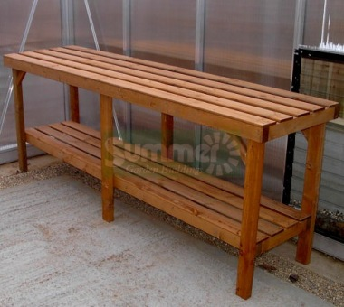 Heavy Duty Wooden 2 Tier Staging 324